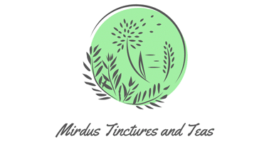 Mirdus Tinctures and Tea logo
